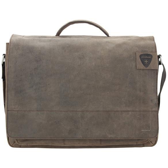 Strellson Richmond Briefbag Aktentasche L - dark brown