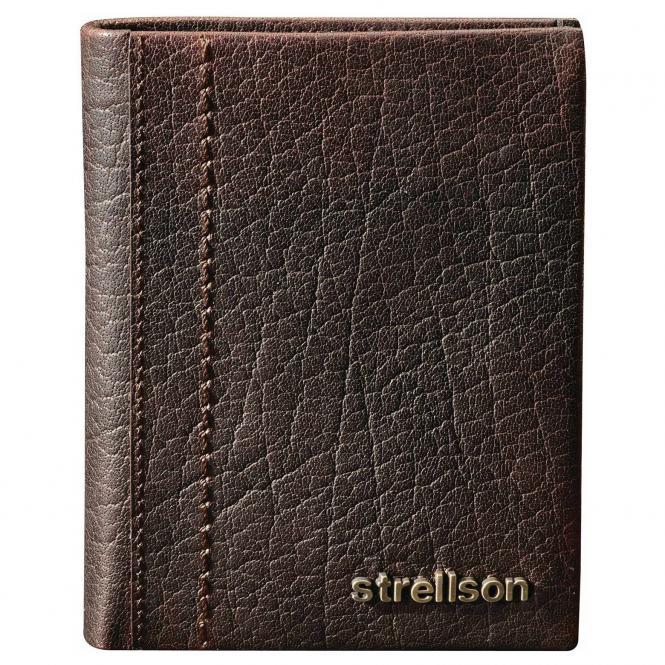 Strellson Walker Geldbörse BillFold V8 - dark brown