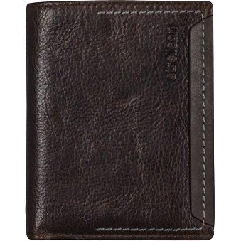 Strellson Camden Billfold V8 Herrengeldbörse 12 cm - dark brown