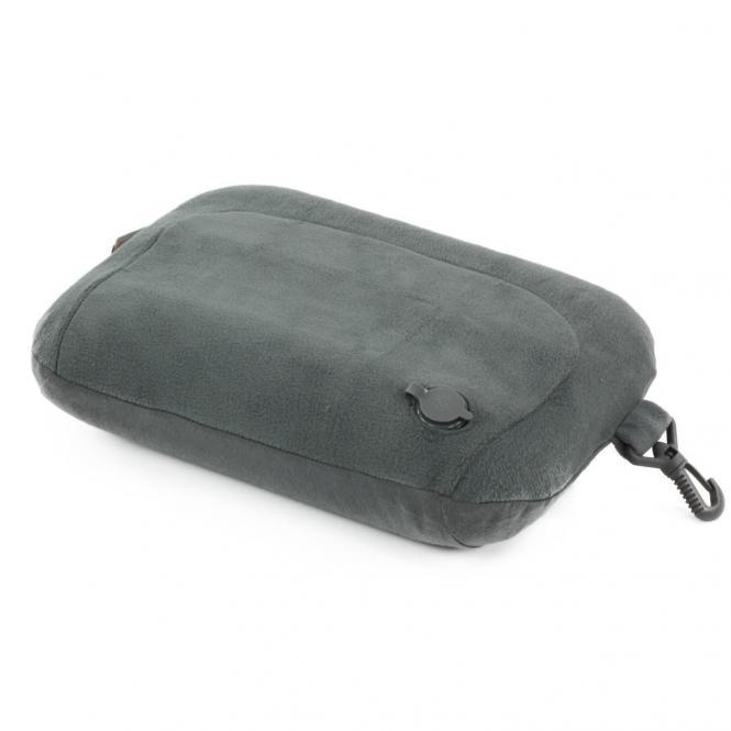 Samsonite Comfort Travelling Aufblasbares Nackenkissen mit abnehmbarer Hülle - graphite