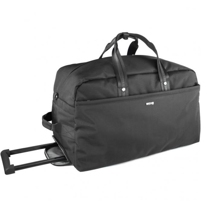 bugatti Contratempo Rollenreisetasche 57 cm - schwarz