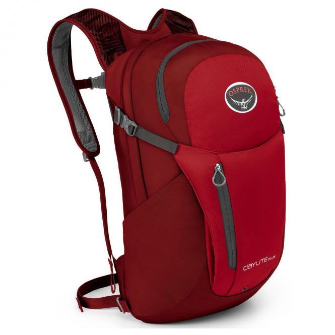 Osprey Daylite-Plus Laptoprucksack O/S - real red