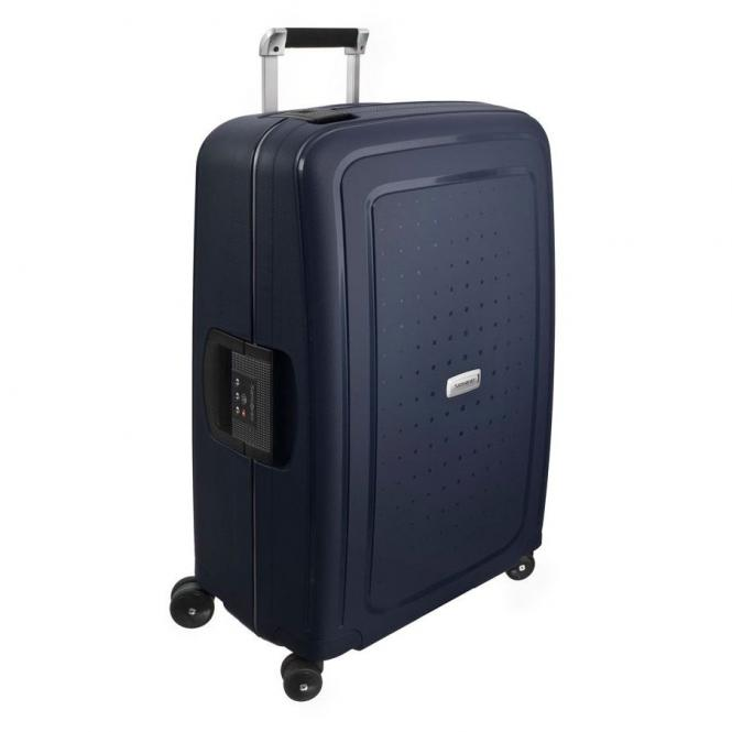 Samsonite S Cure DLX 4-Rollen-Trolley 69 cm - midnight blue