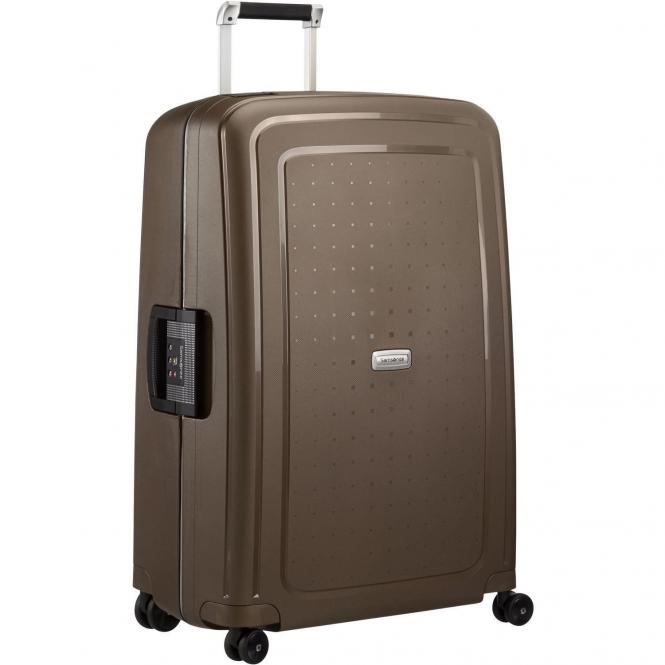 Samsonite S Cure DLX 4-Rollen-Trolley 75 cm - metallic bronze