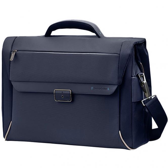 """Samsonite Spectrolite Briefcase Laptoptasche 2 Fächer 43,5 cm 16"""" - blue"""