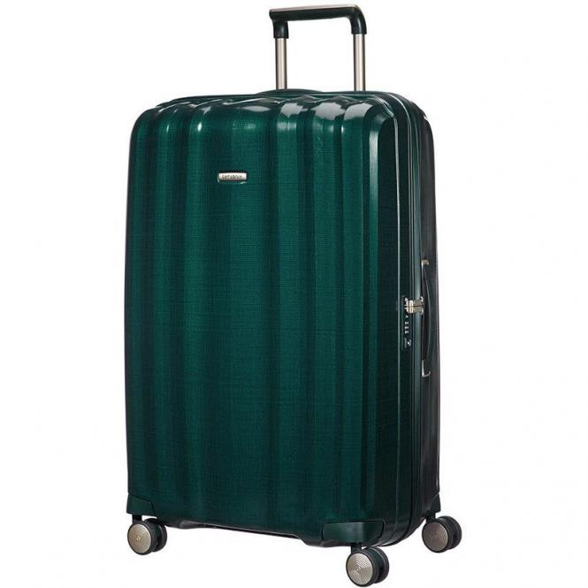 Samsonite Lite-Cube Spinner 4-Rollen-Trolley 82 cm - dark green