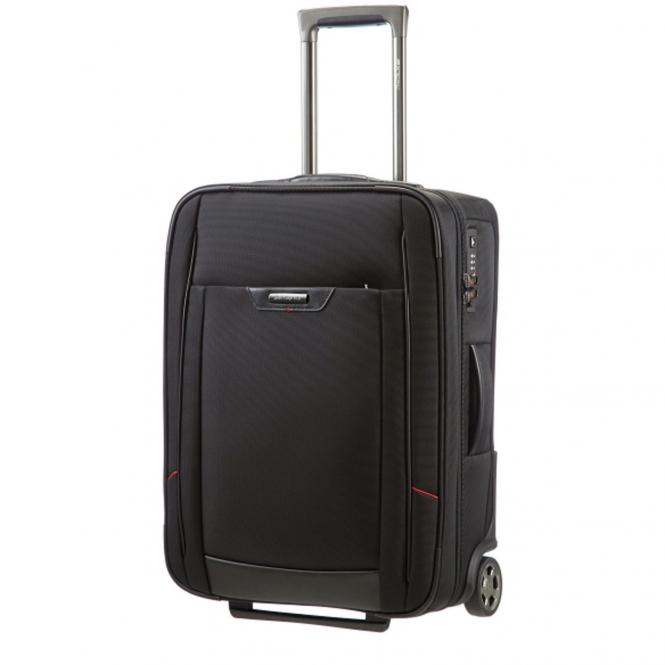 Samsonite PRO-DLX 4 2-Rollen-Upright Strict Cabin 55cm - schwarz