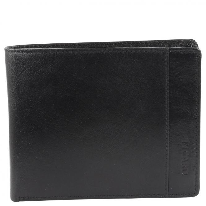Picard Buddy 1 Ledergeldbörse Herren 12 cm - schwarz*