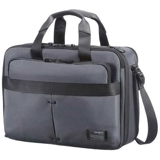 "Samsonite Cityvibe 3 Way Bus. Case Businesstasche 16"" Exp - ash grey"