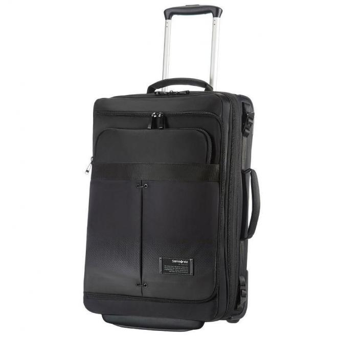 Samsonite Cityvibe Lapt. Duffle/Wh Kabinen-Rollenreisetasche.55/20 cm Exp - jet black