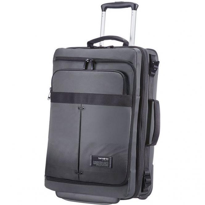 Samsonite Cityvibe Lapt. Duffle/Wh Kabinen-Rollenreisetasche.55/20 cm Exp - ash grey