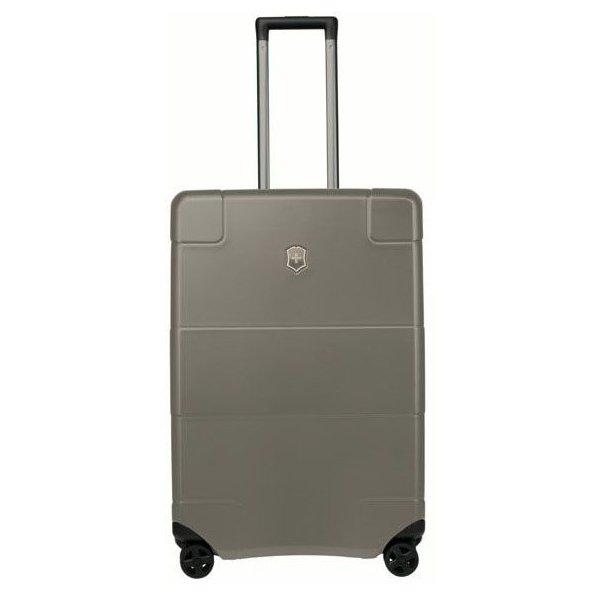 Victorinox Lexikon Medium Hard Side Case 4-Rollen-Trolley 68 cm - titanium