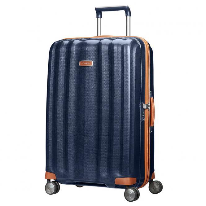 Samsonite Lite-Cube DLX Spinner 4-Rollen-Trolley 76 cm - midnight blue