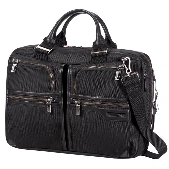 "Samsonite GT-Supreme Businesstasche 14.1"" - black/black"