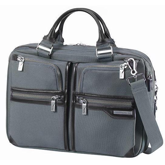 """Samsonite GT-Supreme Businesstasche 15.6"""" erweiterbar - black/black"""