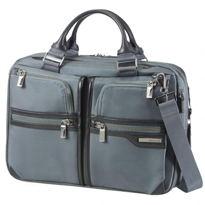 """Samsonite GT-Supreme Businesstasche 15.6"""" erweiterbar - grey/black"""