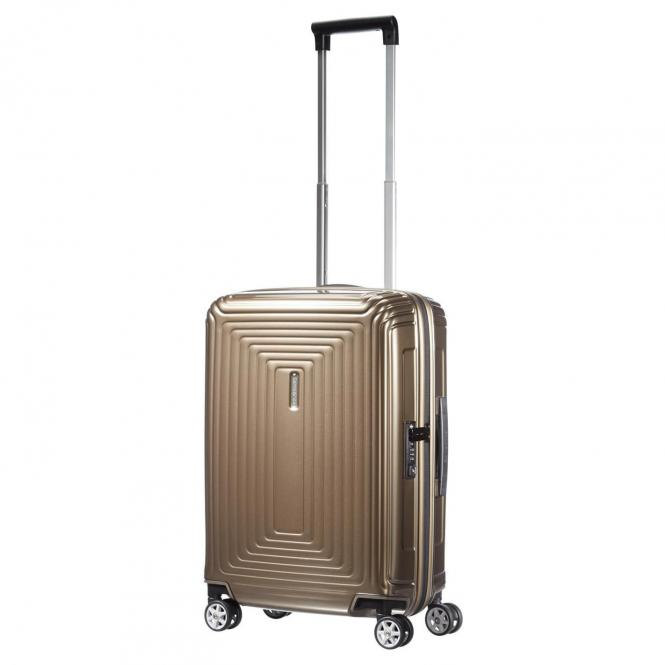 Samsonite Neopulse 4-Rollen-Kabinentrolley 55 cm - metallic sand