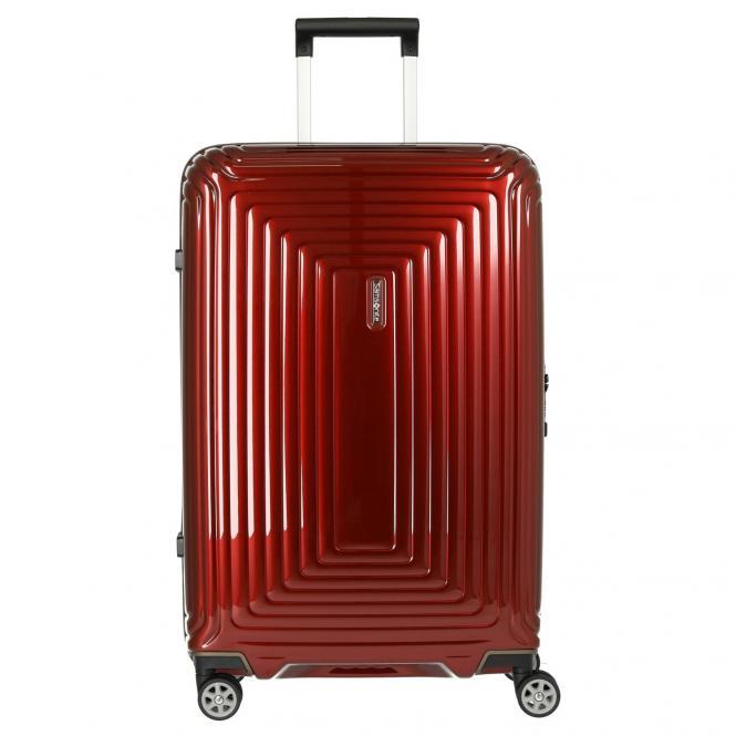 Samsonite Neopulse 4-Rollen-Trolley 69 cm - metallic red