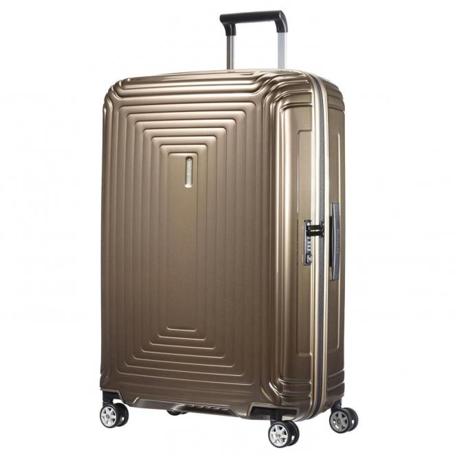 Samsonite Neopulse 4-Rollen-Trolley 75 cm - metallic sand