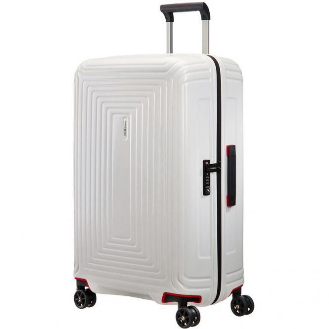 Samsonite Neopulse 4-Rollen-Trolley 75 cm - matt white