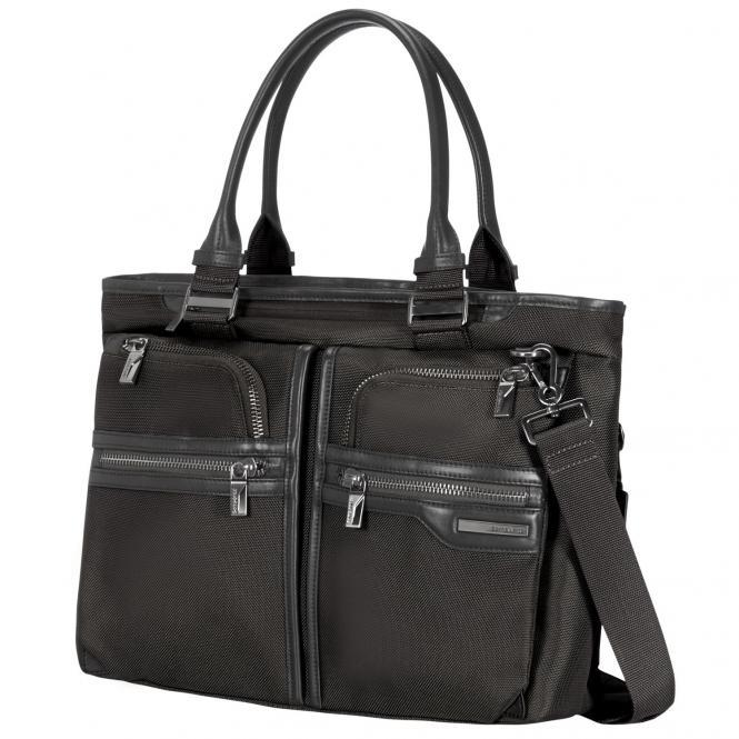 """Samsonite GT-Supreme Frauen Horiz. Businesstasche 14.1"""" - black/black"""