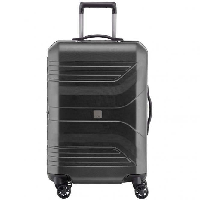 Titan Prior M 4-Rollen-Trolley 69 cm - dark black