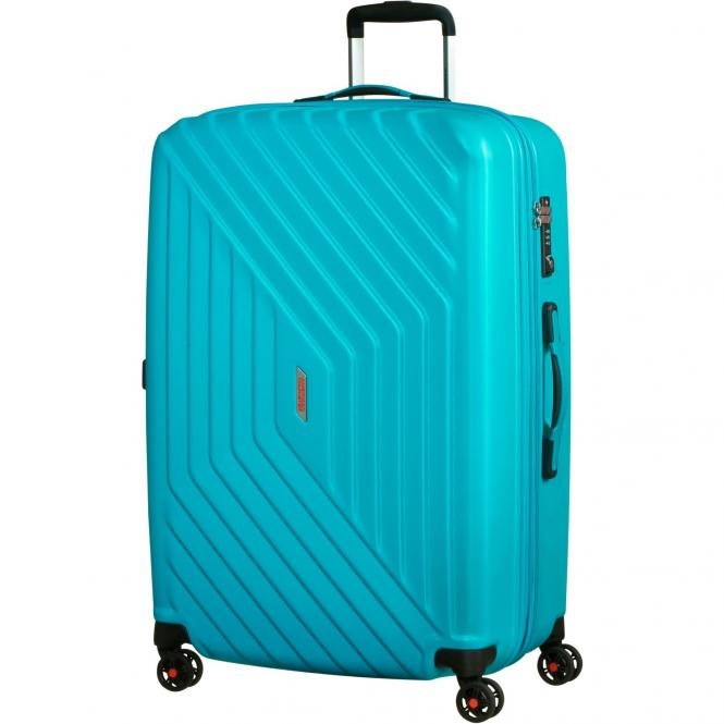 American Tourister Air Force 1 4-Rollen-Trolley 76 cm erweiterbar - aero turquoise