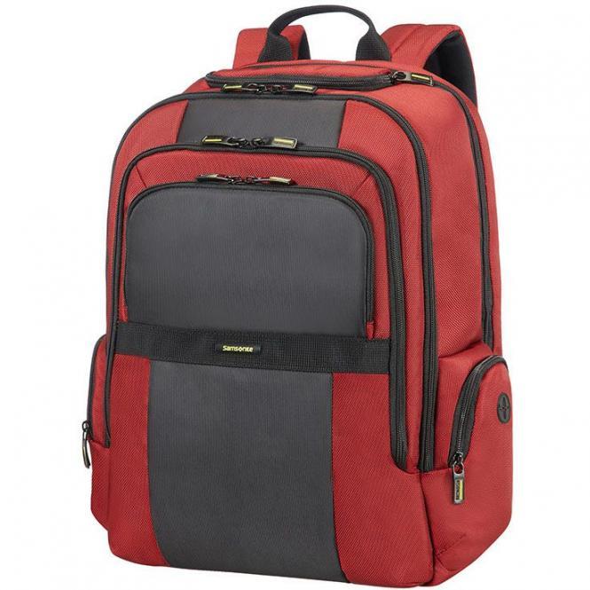 """Samsonite Infinipak Laptoprucksack 17.3"""" - red/black"""