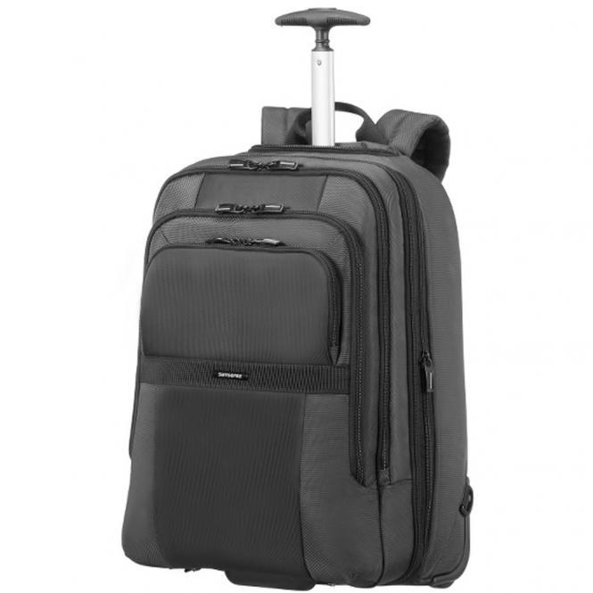 "Samsonite Infinipak Lapt.Backpack/Wh Rucksacktrolley 17.3"" Exp - black/black"
