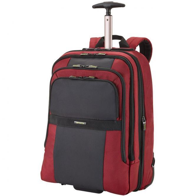 samsonite infinipak laptop backpack mit rollen 17 3. Black Bedroom Furniture Sets. Home Design Ideas