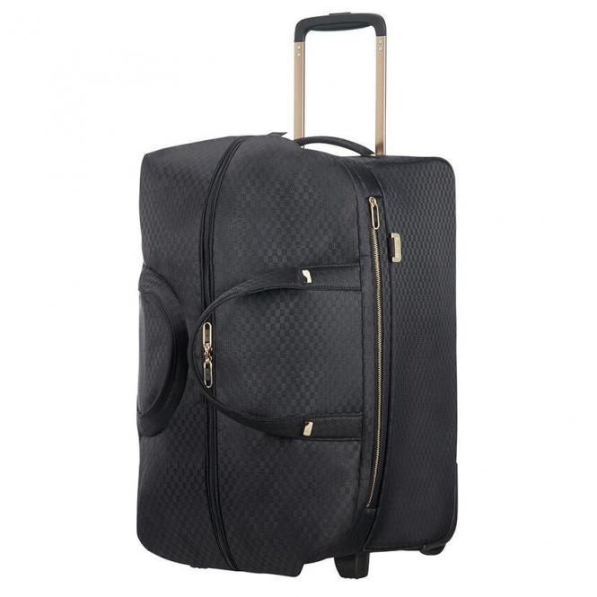 Samsonite Uplite Rollenreisetasche 55 cm - black/gold