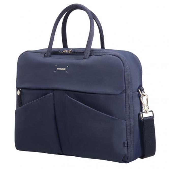 """Samsonite Lady Tech Bailhandle Businesstasche 15.6"""" - dark blue"""