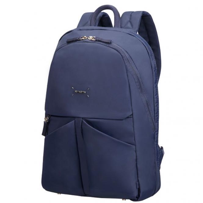 "Samsonite Lady Tech Backpack Businessrucksack 14.1"" - dark blue"