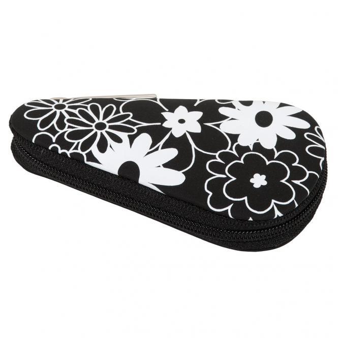 Windrose Charming Taschenmanicure mit Bestückungen aus dem Hause Zwilling/Sollingen 11 cm - Flowers