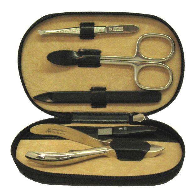 Windrose Classico Manicure mit Bestückungen aus dem Hause Zwilling/Sollingen 12,5 cm - schwarz*