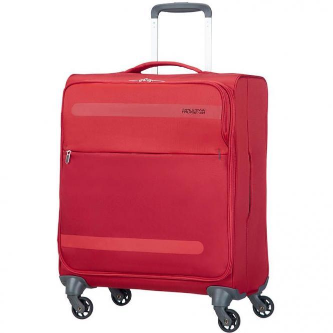 American Tourister Herolite Super Light 4-Rollen-Trolley 56 cm - formula red