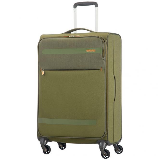 American Tourister Herolite Lifestyle 4-Rollen-Trolley 67 cm - khaki