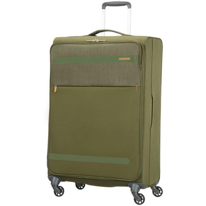 American Tourister Herolite Lifestyle 4-Rollen-Trolley 74 cm - khaki