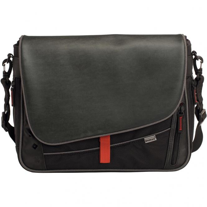 Oxmox Touch-It Messenger Bag / Umhängetasche S - grau