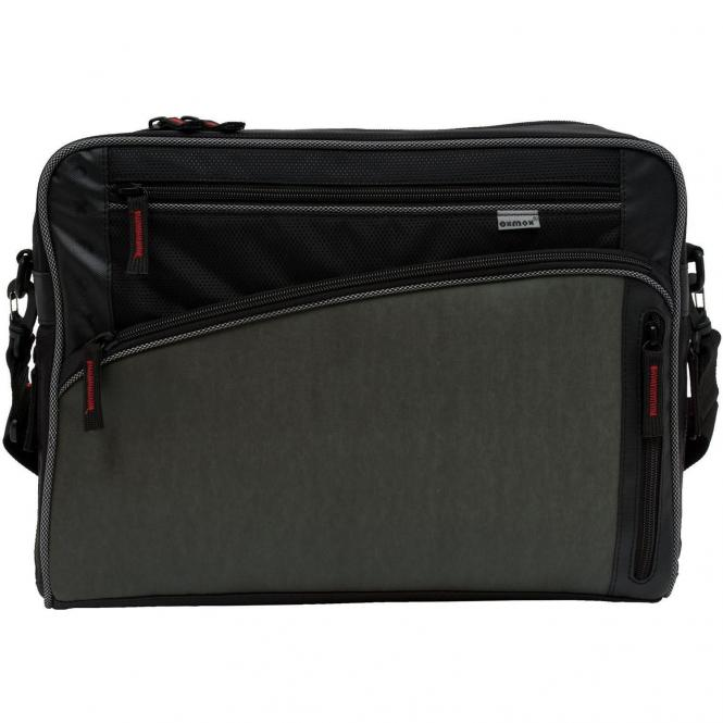 Oxmox Touch-It Street Bag  / Umhängetasche L - grau