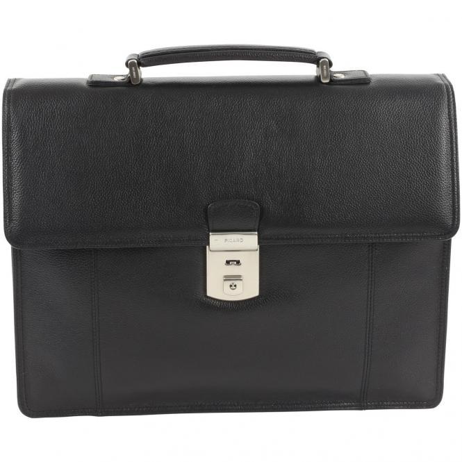 Picard Milano Männertasche 36 cm - schwarz