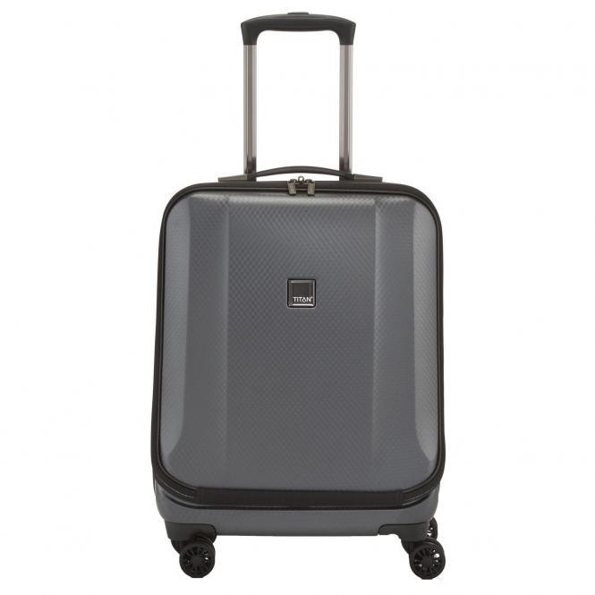 "Titan Xenon Deluxe 4-Rollen Businesstrolley 17"" 55 cm - graphit"