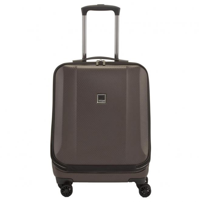 "Titan Xenon Deluxe Businesstrolley 17"" 55 cm - brown"
