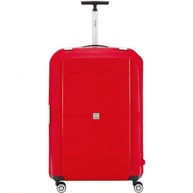 Titan Mono 4-Rollen-Trolley L 77 cm - red