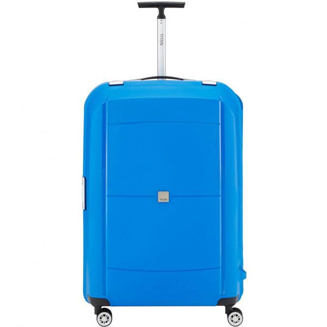 Titan Mono 4-Rollen-Trolley L 77 cm - blue