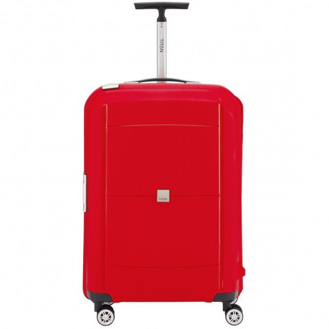 Titan Mono 4-Rollen-Trolley M 68 cm - red