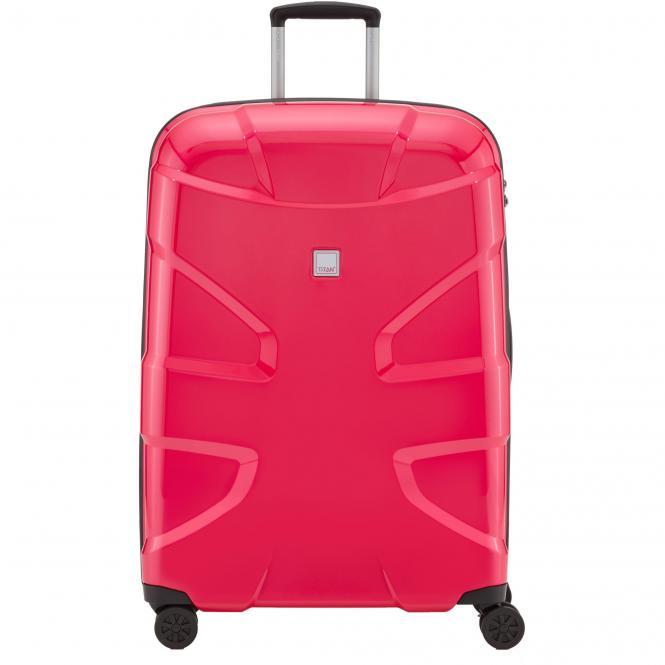 Titan X2 4-Rollen-Trolley L 76 cm - fresh pink