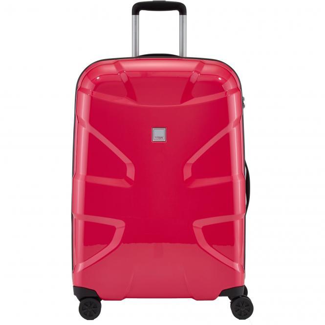 Titan X2 4-Rollen-Trolley M+ 71 cm - fresh pink