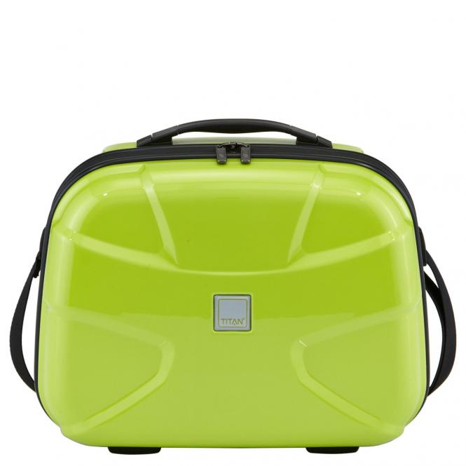 Titan X2 Beautycase 38 cm - lime green