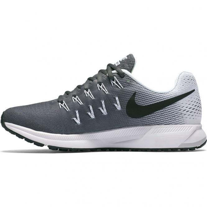 Nike Women Air Zoom Pegasus 33 Running Schuh 831356 - 38,5  dark grey/black white